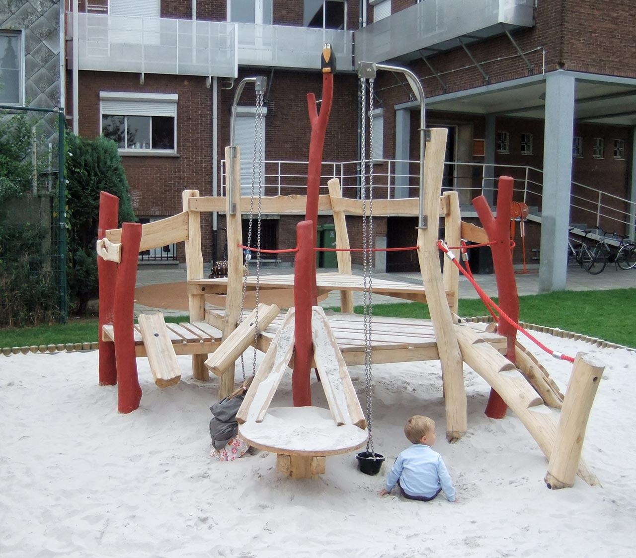 A 111 Sandbaustelle