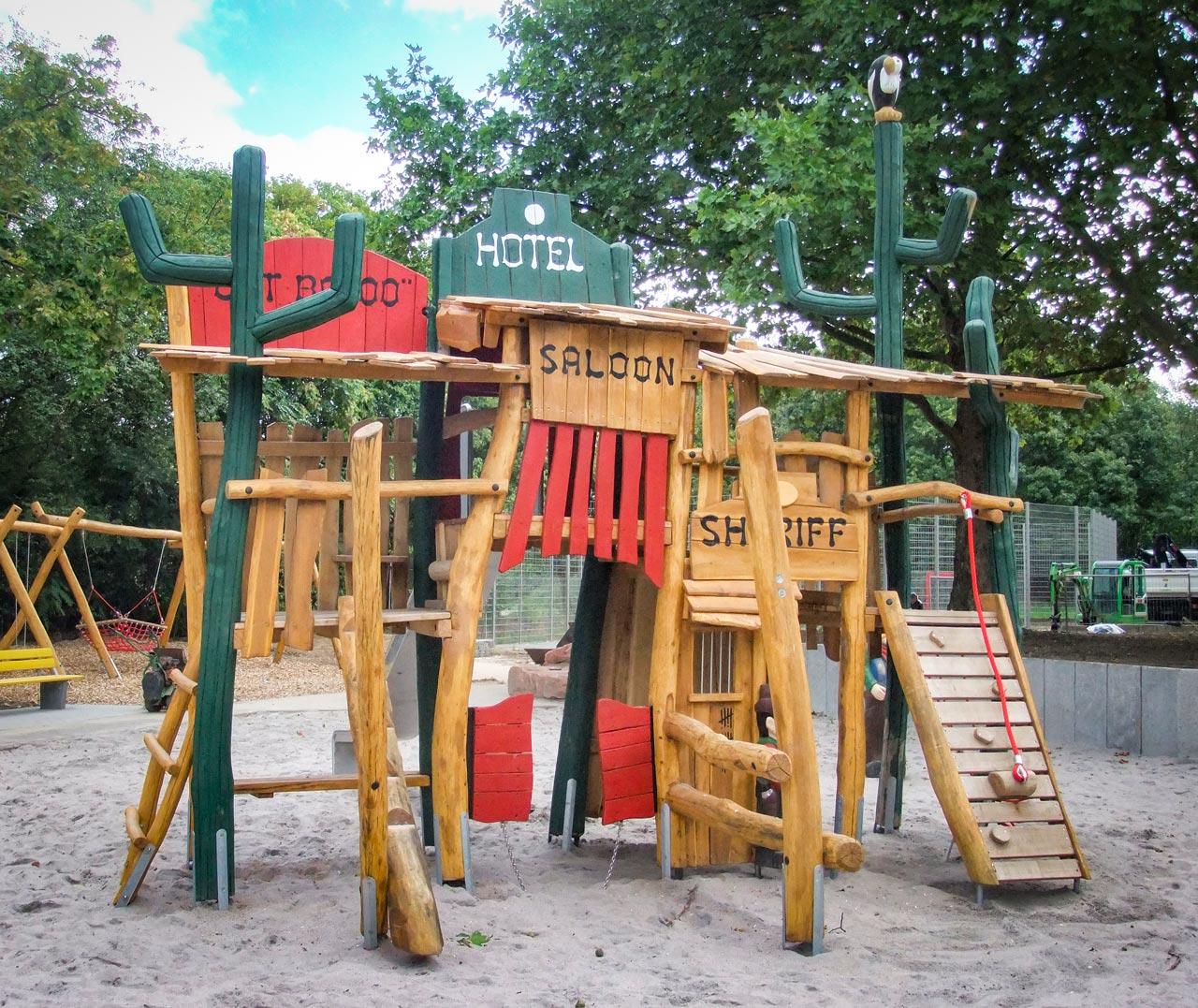 A 129 Spielplatz Westernstadt