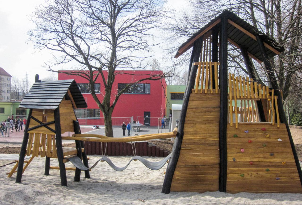 A 141 Förderturmanlage Spielplatz