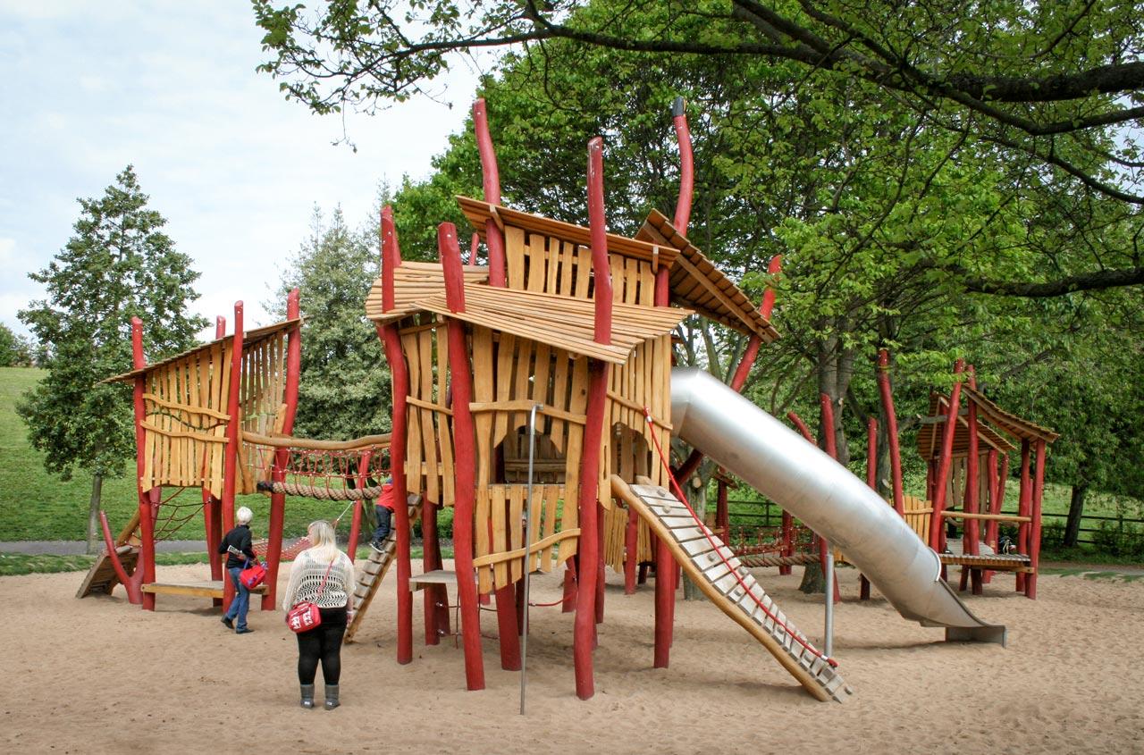 A 179 Spielplatz Kletteranlage