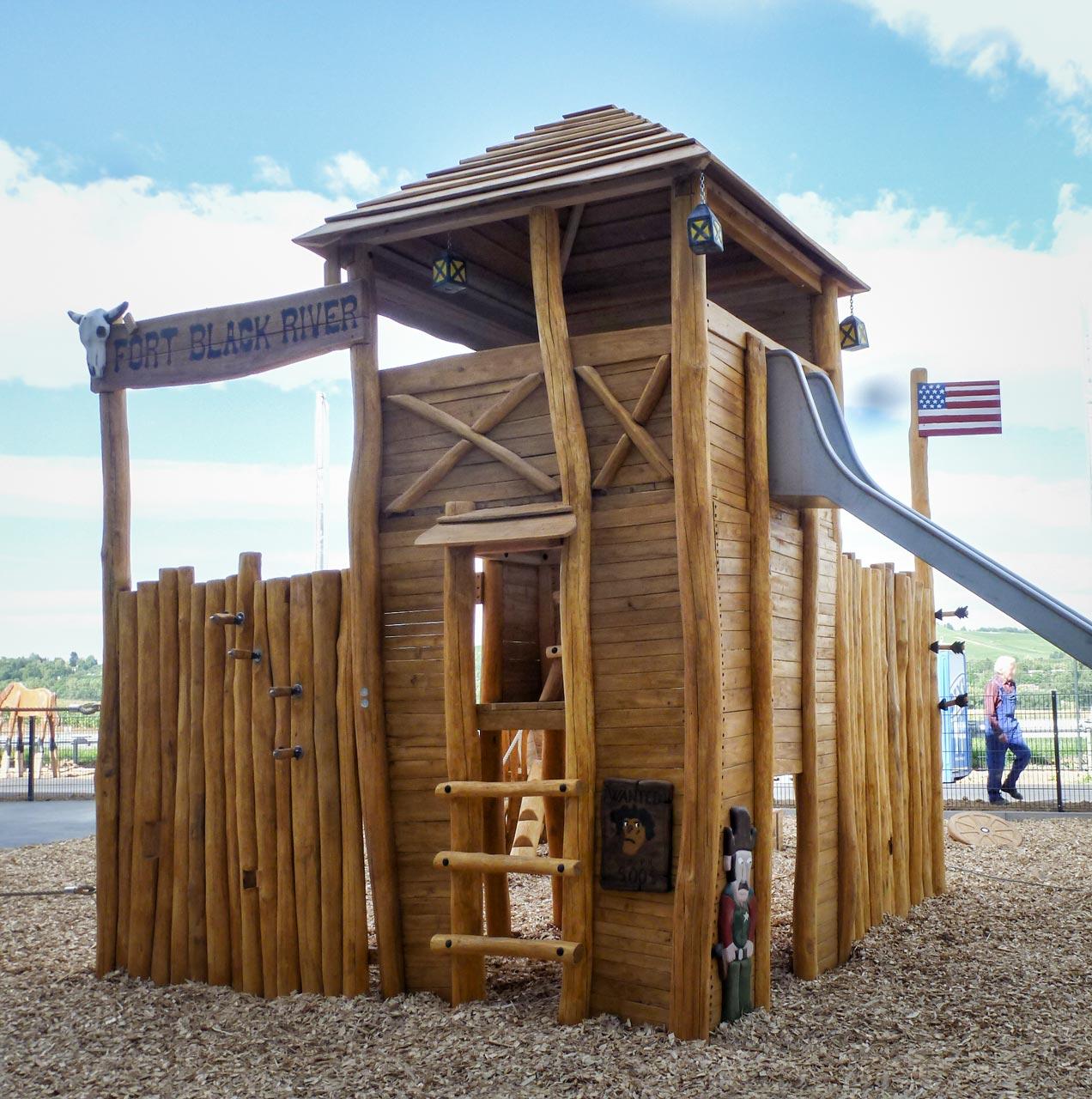 A 201 Spielanlage Themenspielplatz Westernfort