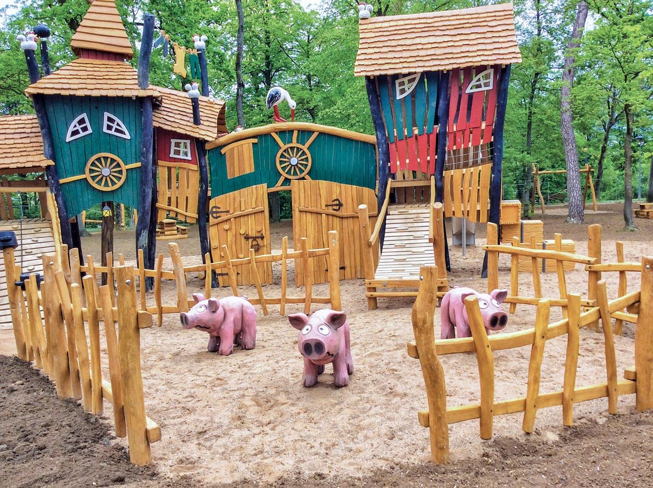 A 206 Themenspielplatz Bauernhof