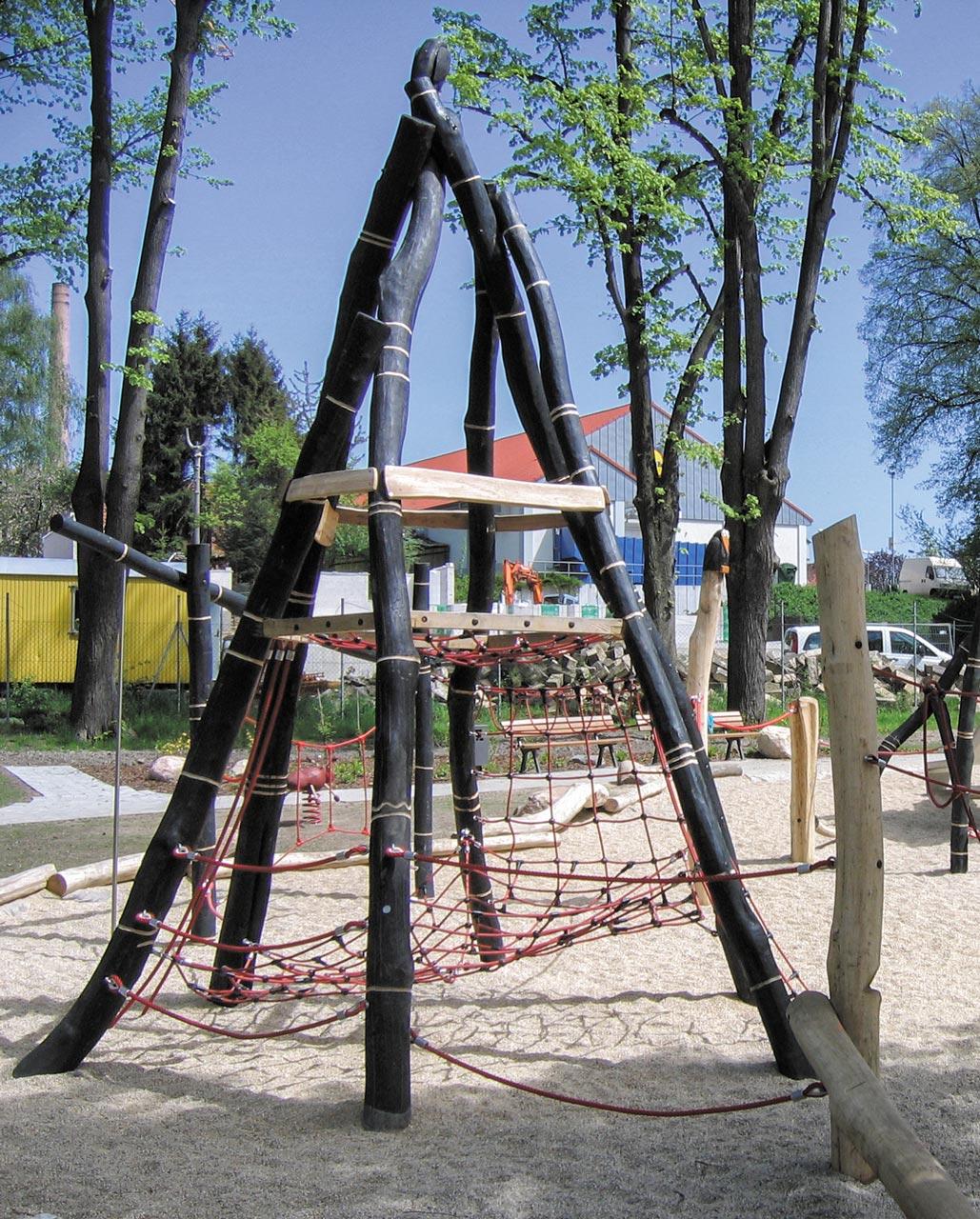 A 21 Spielanlage Kletterhaufen