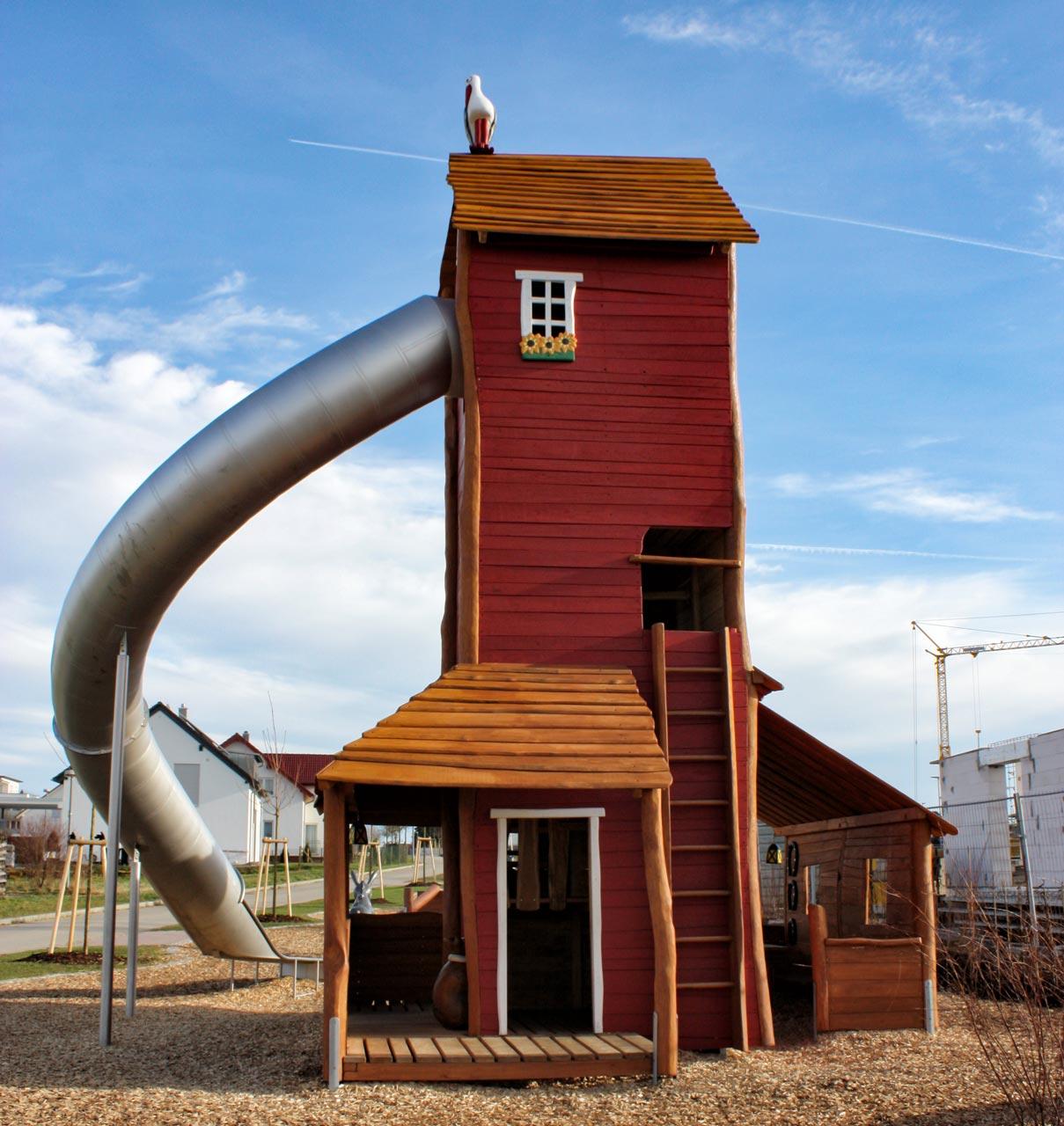 A 218 Spielanlage Themenspielplatz Riesenmühle