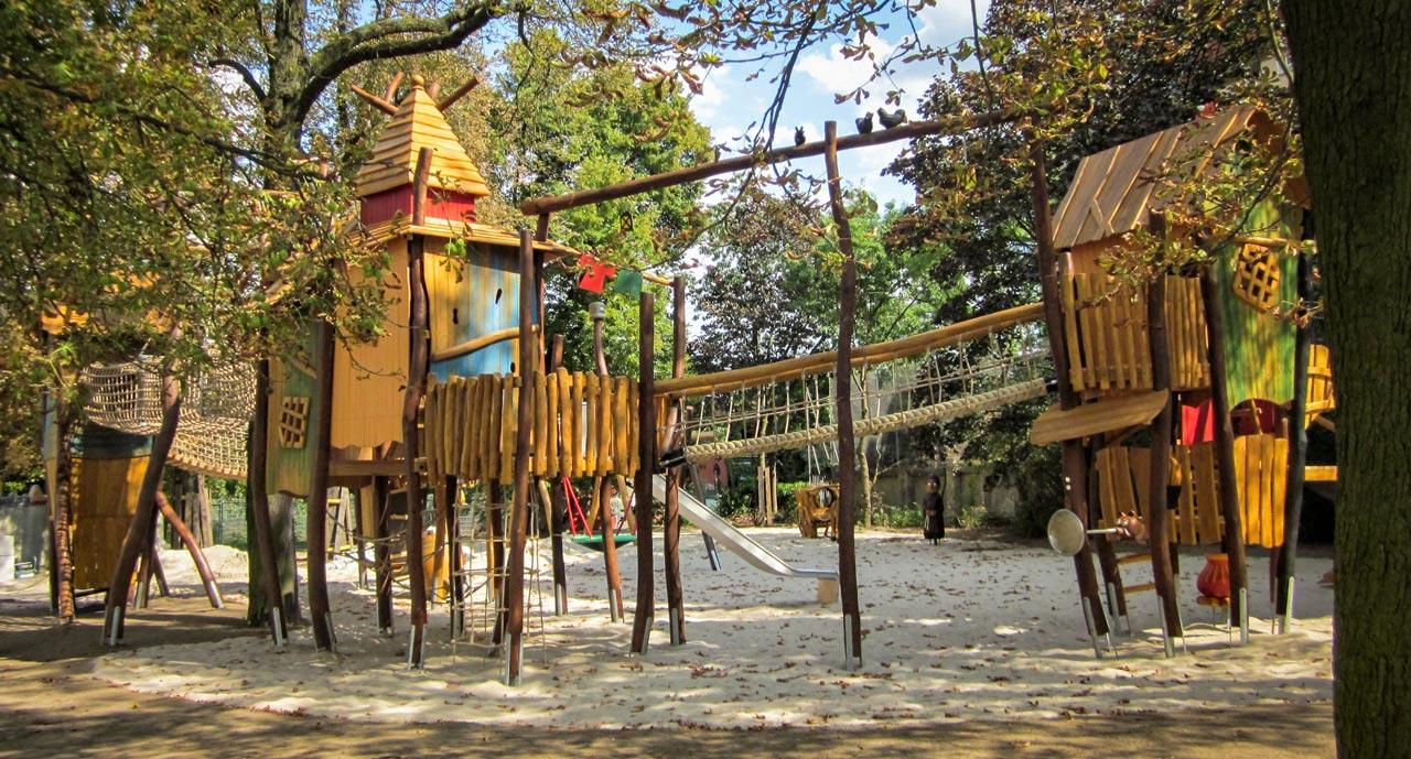 A 227 Themenspielplatz Robin Hood Lager