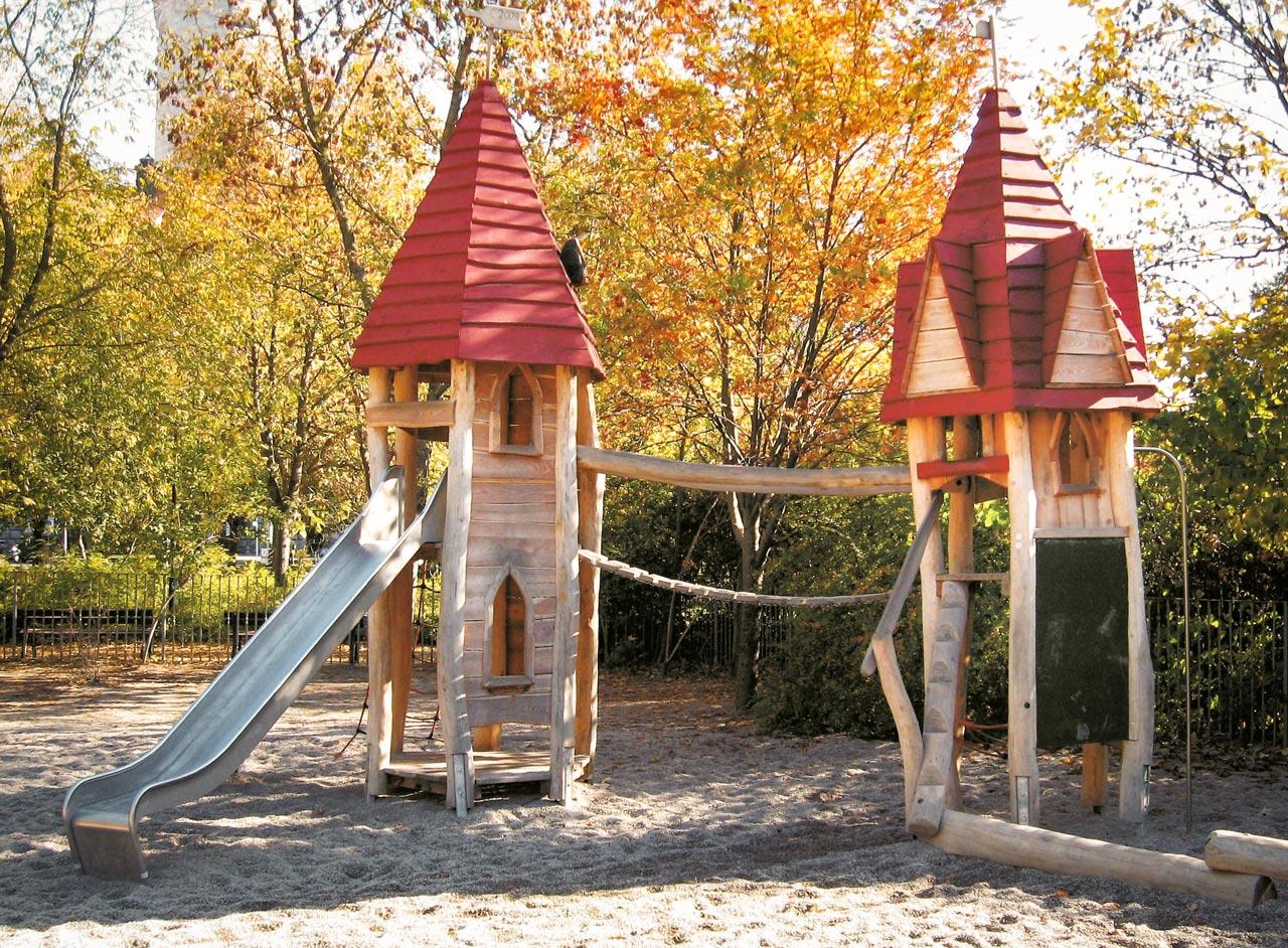 A 33 Spielplatz Kirchtürme