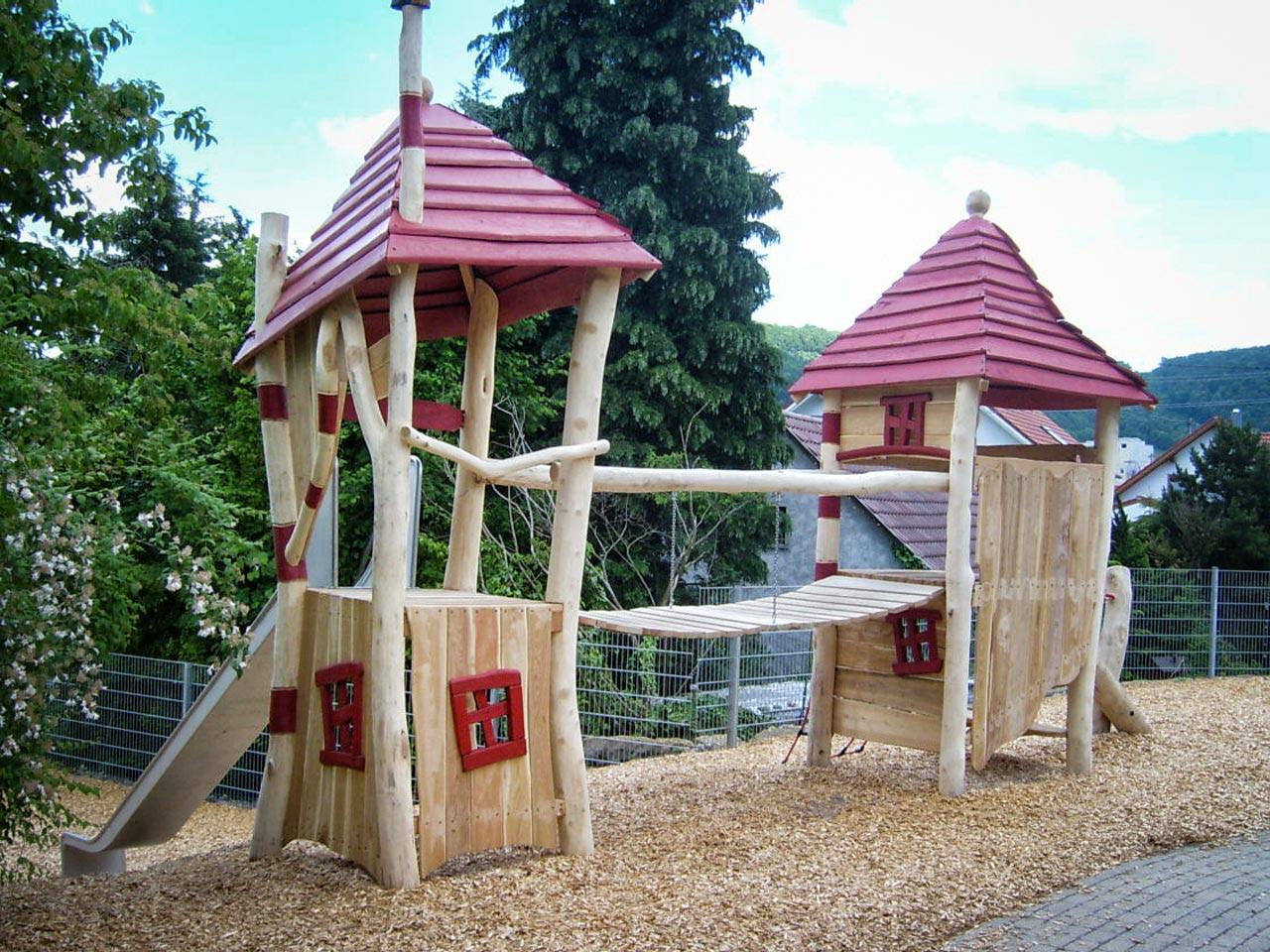 A 50 Spielplatz aus Robinie