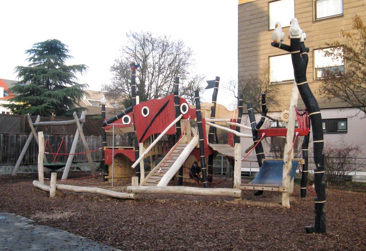 A 72 Spielplatz Piratenstadt