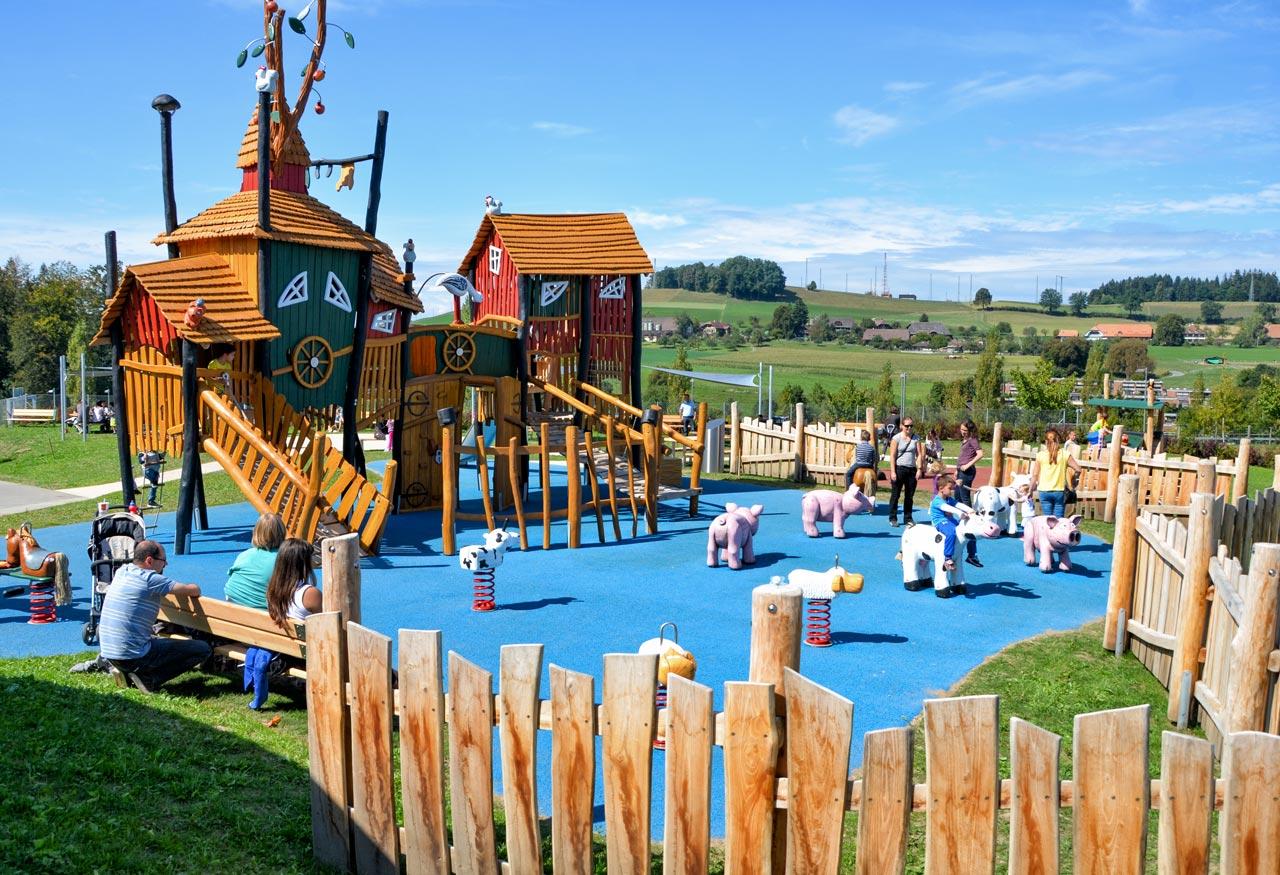 Bern Westside, Schweiz Themenspielplatz