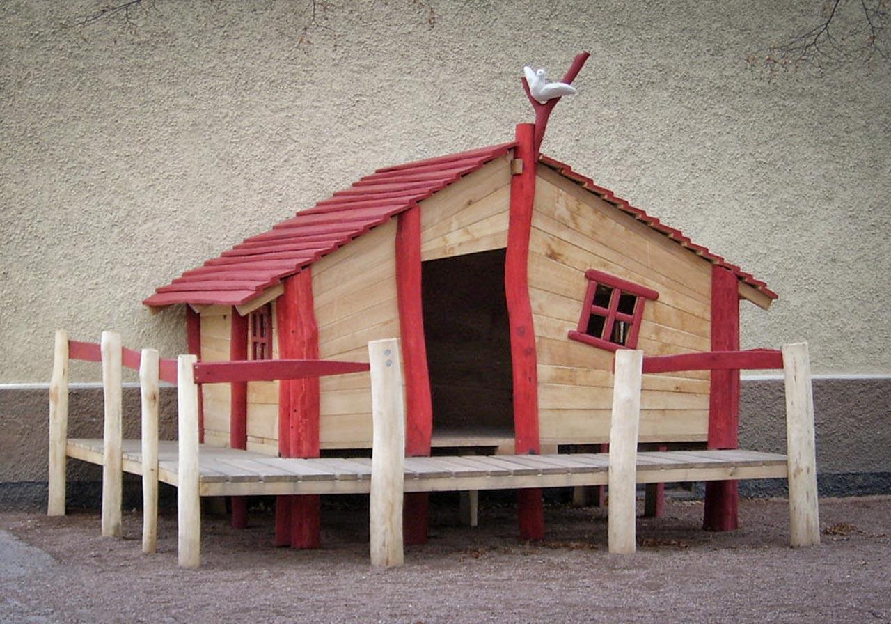 C 5-3 Spielhaus Puppenhaus