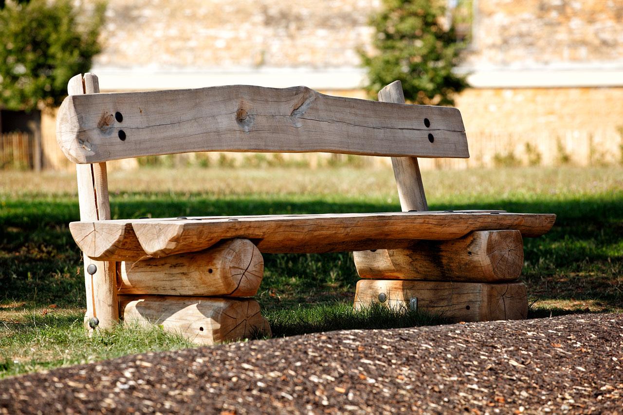 F 5 Sitzbank Holz Robinie