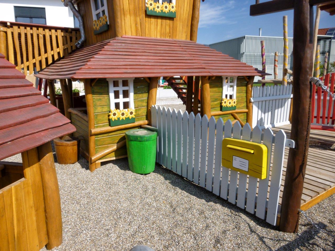 Themenspielplatz, Fertighauswelt, Günzburg