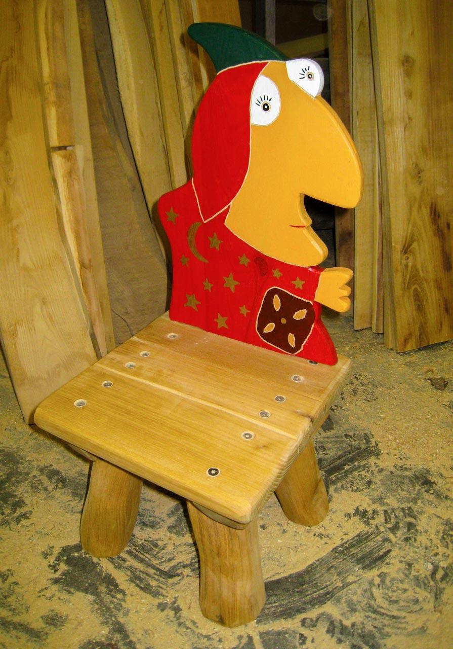 G 13 Stuhl Kinderstuhl Hexe