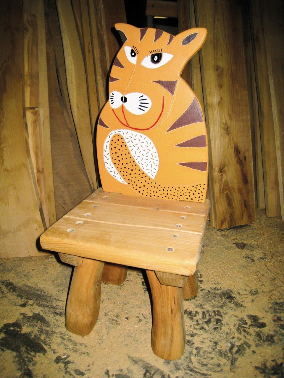 G 14 Stuhl Kinderstuhl Tiger