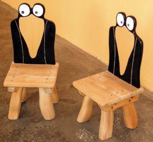 G 17 Stuhl Kinderstuhl Rabe