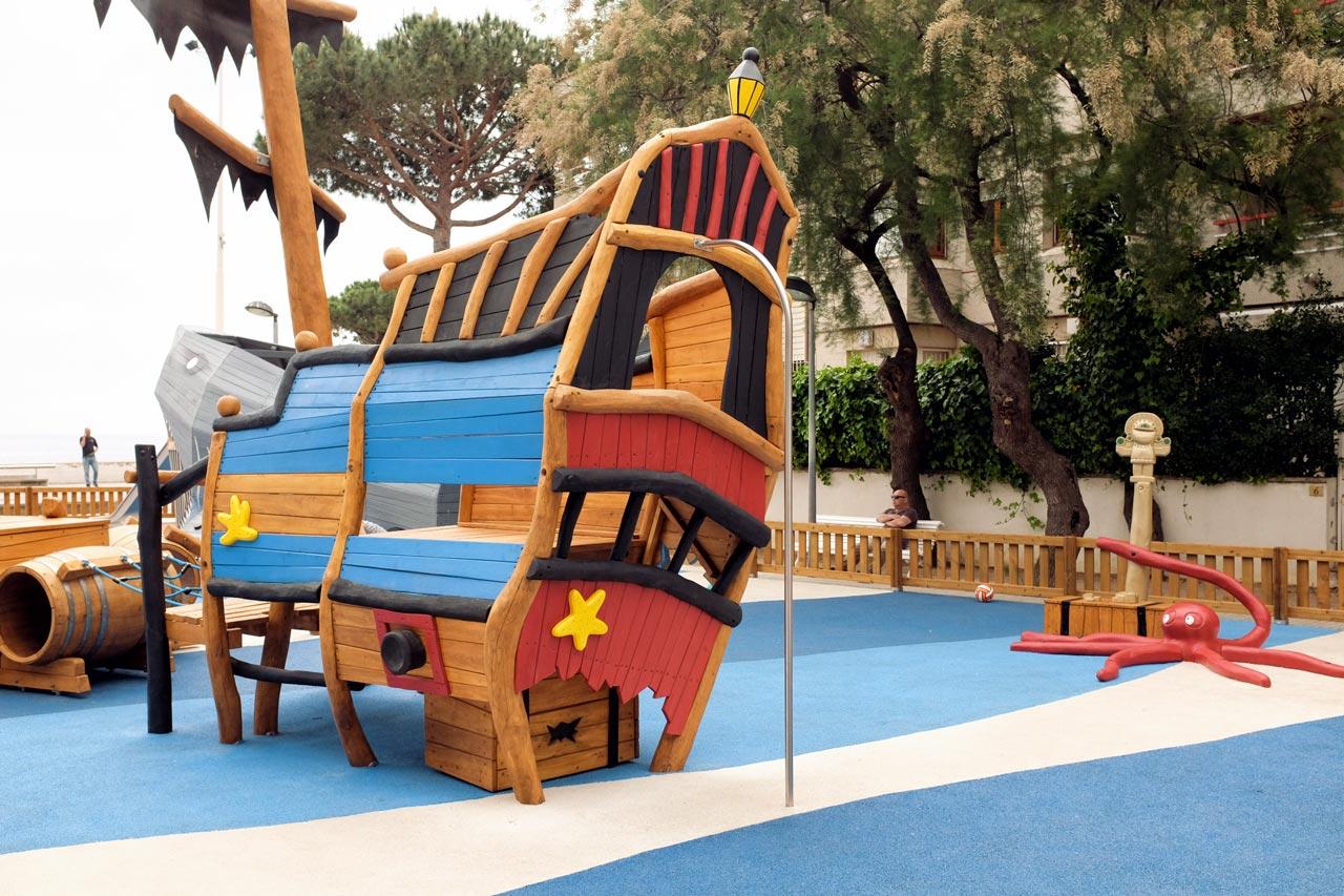 Spielschiff, Girona, Spanien