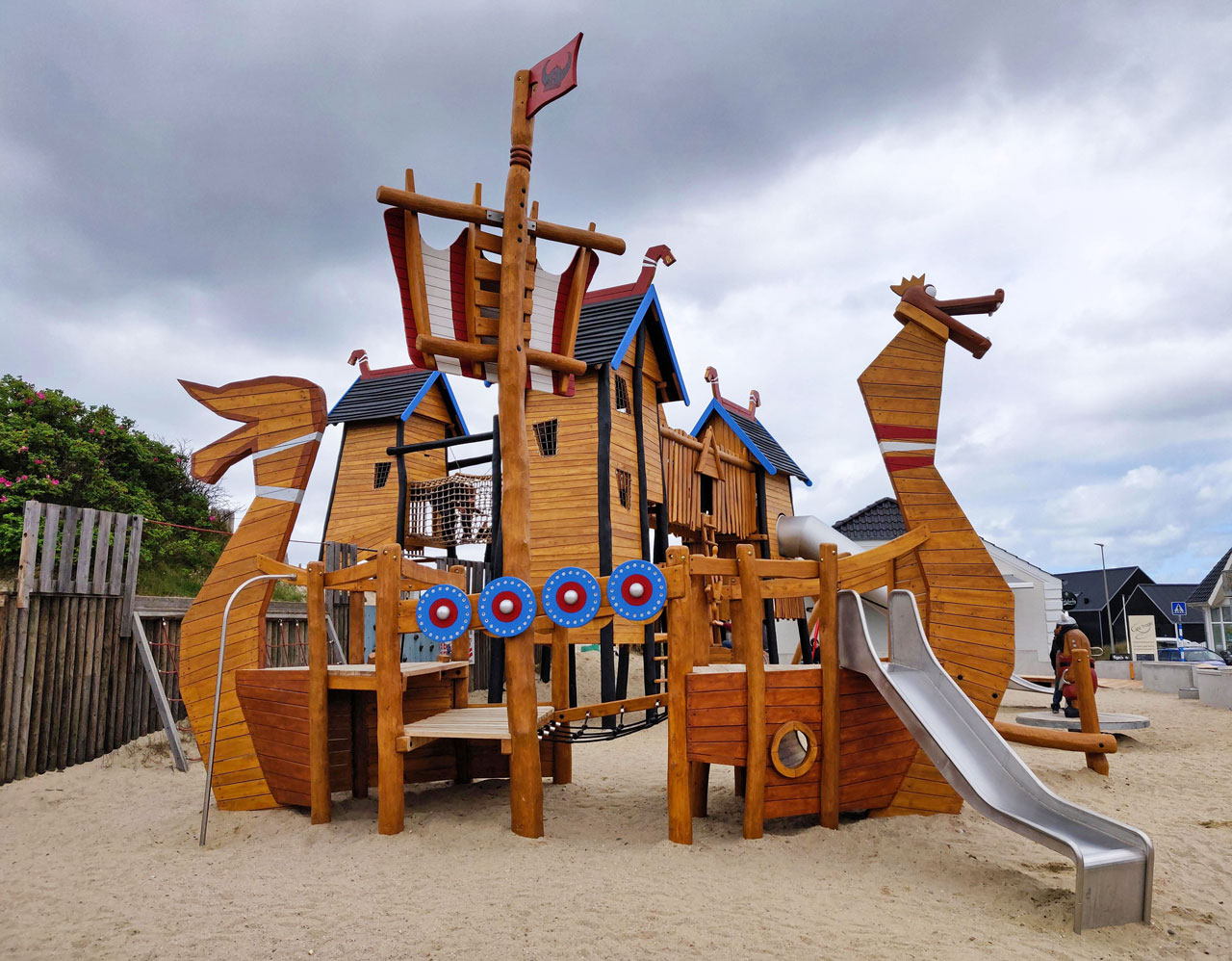 Themenspielplatz, Hyggelige Dänen, Vejers Strand, Dänemark