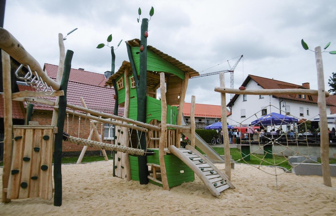 Spielplatz Schleid