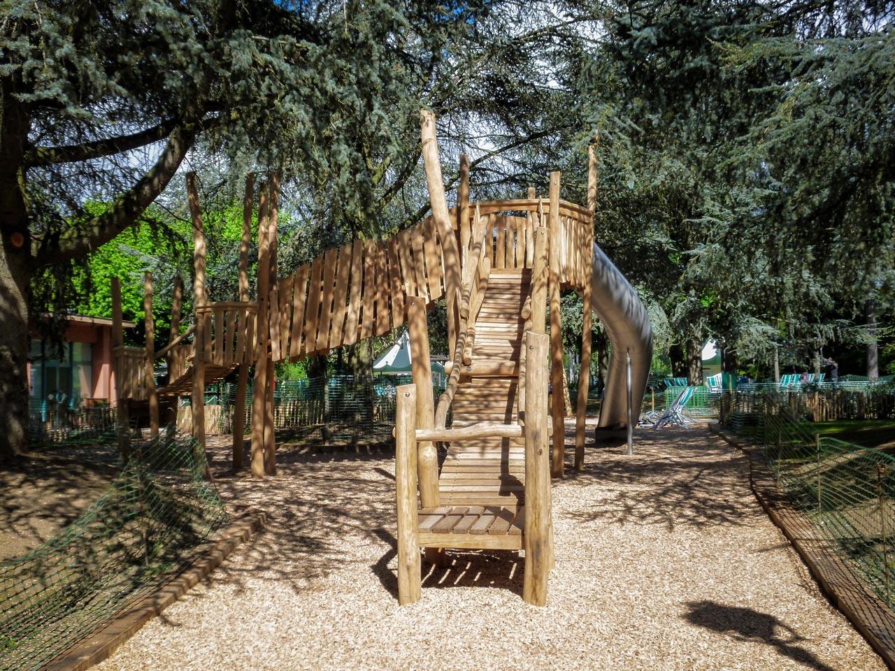 Jardin d'Acclimation, Paris, Frankreich