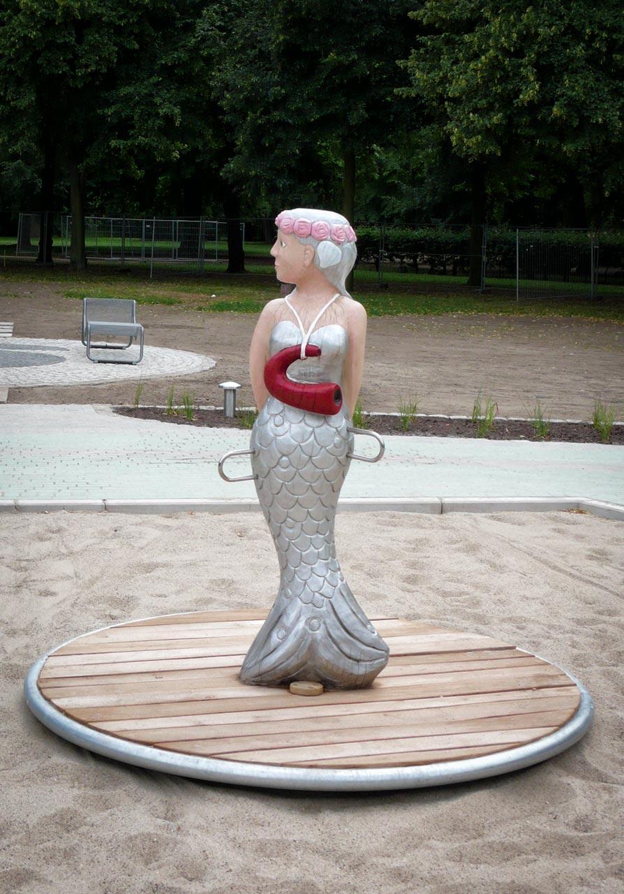 K 26 Karussell Tanzende Elwine Meerjungfrau