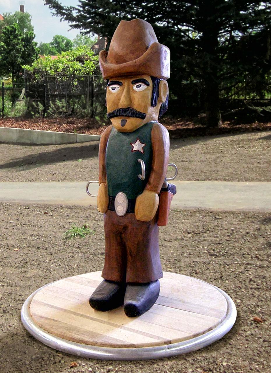 K 7 Karussell Sheriff John Cowboy