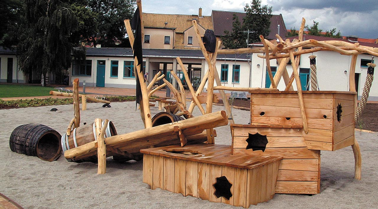 L 0-4 Spielplatz Strandgut