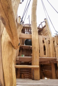 L 77 Spielschiff Piratenschiff