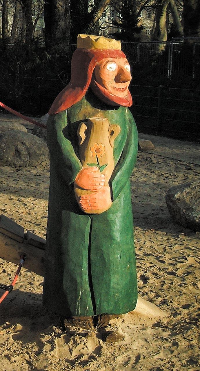 N 0-15 Skulptur Drosselbart