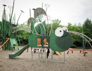 N 135 Spielplatz Kletterobjekt Kletterlibelle