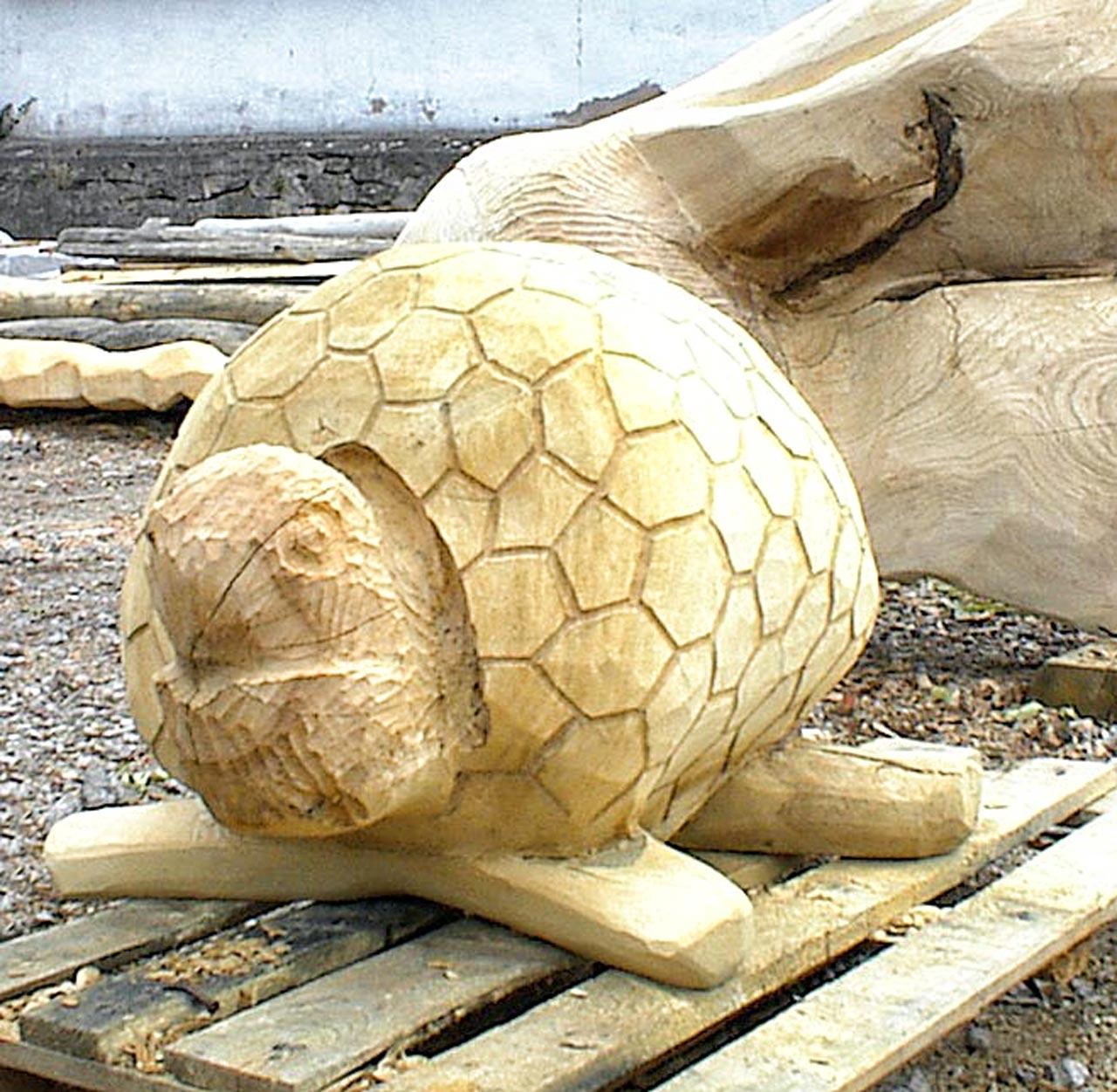 N 2-3 Skulptur Schildkröte