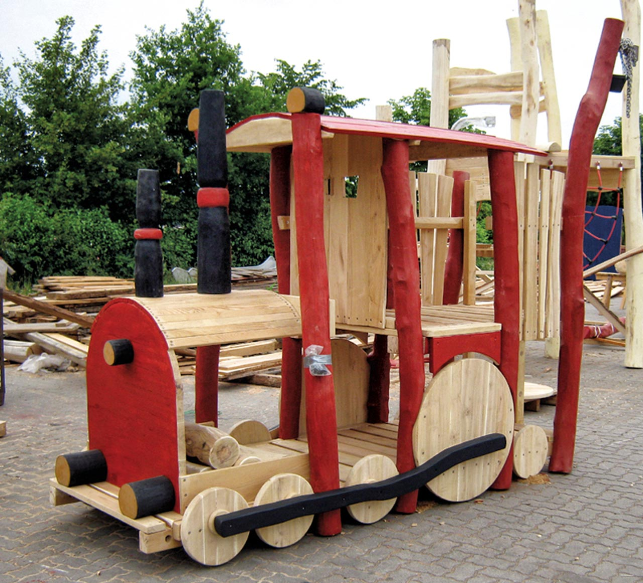 N 29 Spielgerät Lokomotive