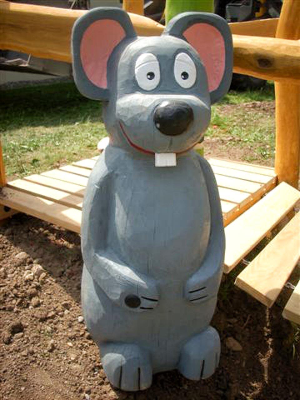 N 57 Skulptur Maus - Mausemann