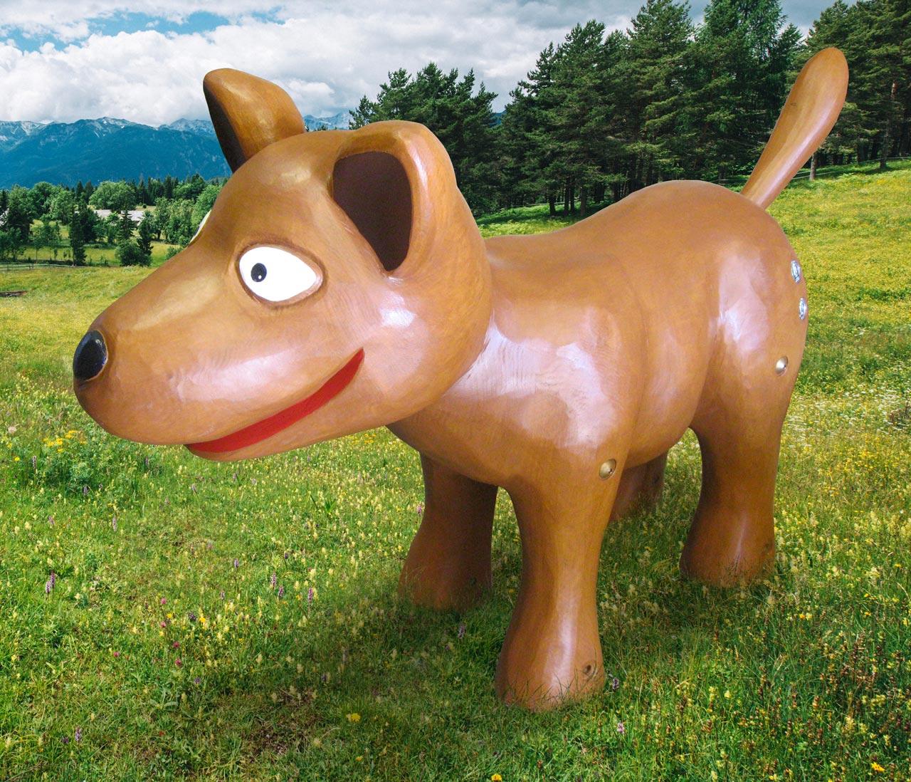 N 61 Skulptur Hund Bello