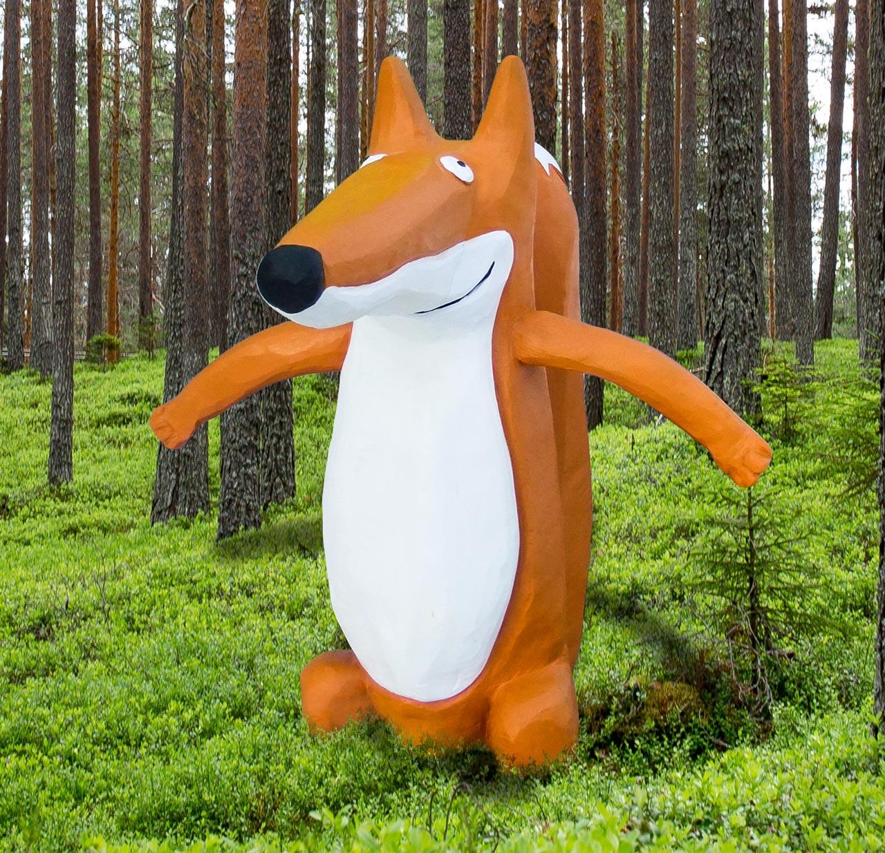 N 64 Skulptur Fuchs