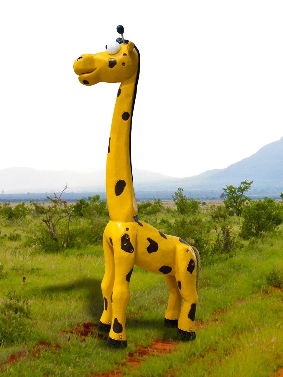 N 68 Skulptur Giraffe