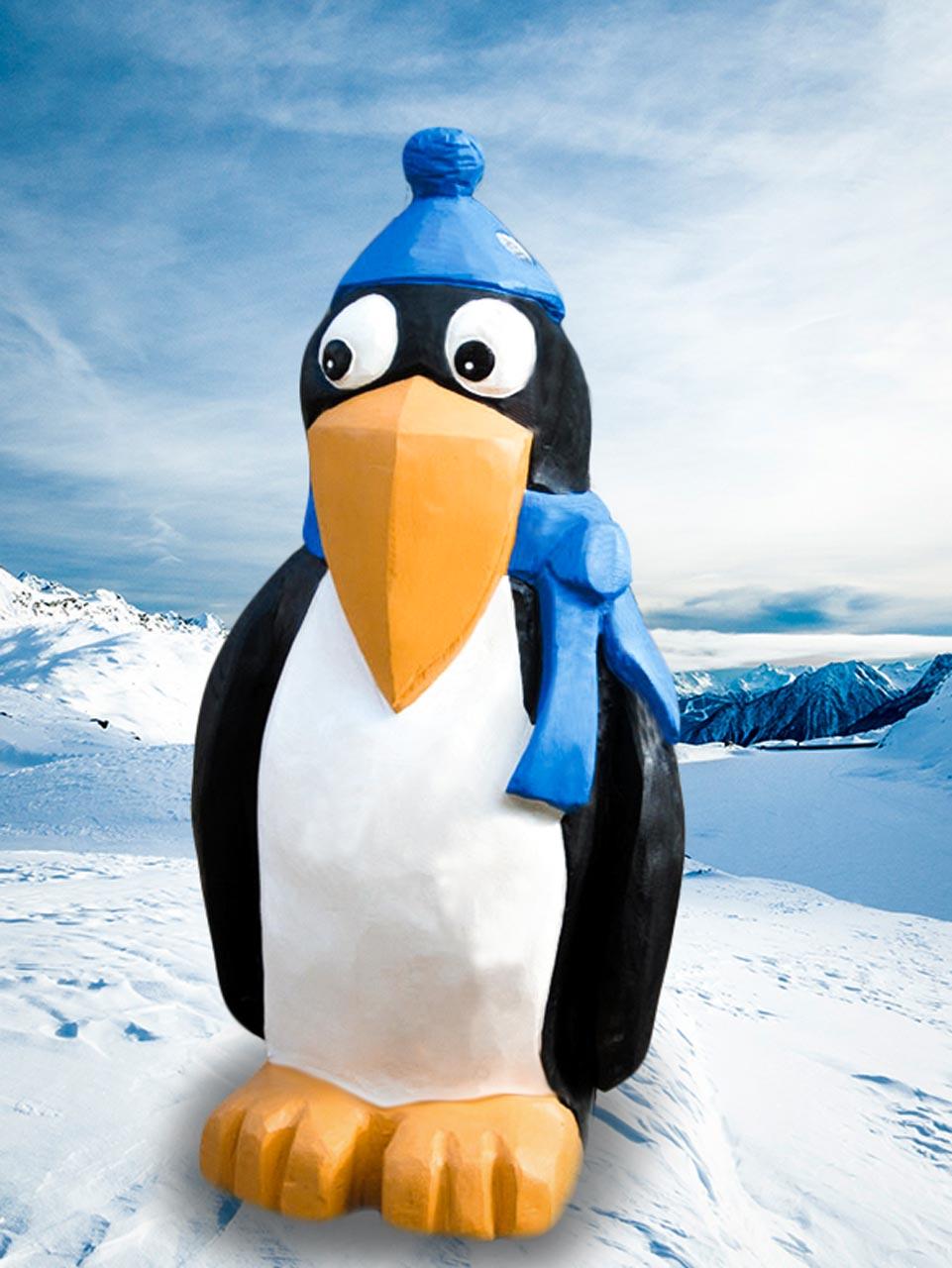 N 71 Pinguin Skulptur
