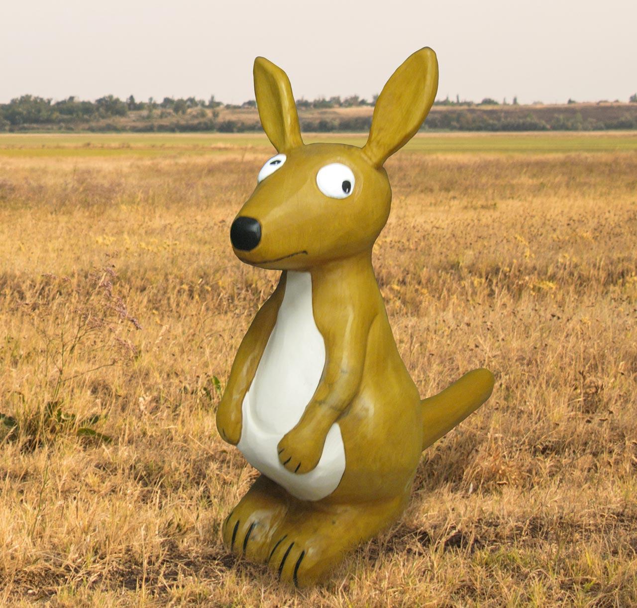N 94 Skulptur Känguru