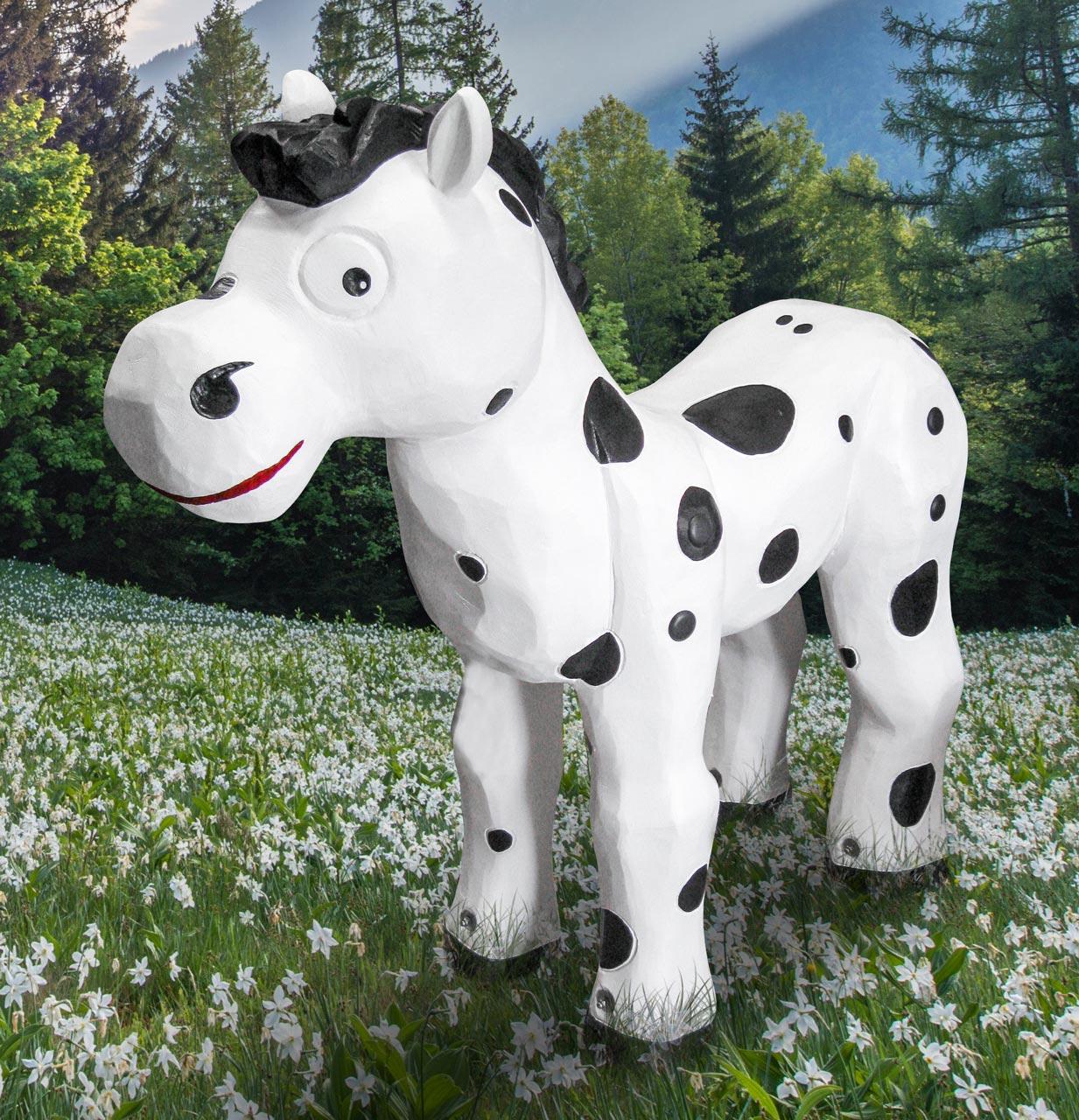 N 96 Skulptur Pferd