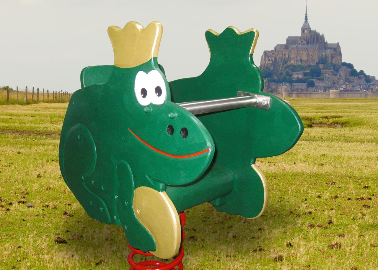 P 103 Federwipper Frosch Froschkönig | Wackelfrosch