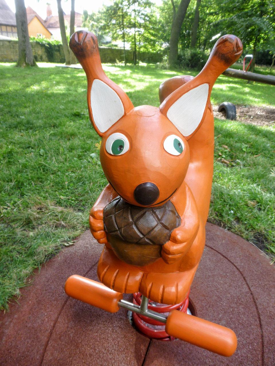 P 120 Federwipper Eichhörnchen | Wackeleichhörnchen