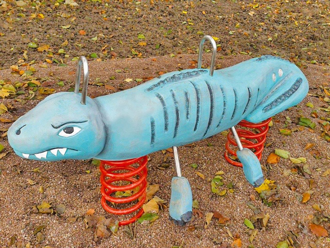 P 146 Federwipper Dinosaurier | Wackeldinosaurier
