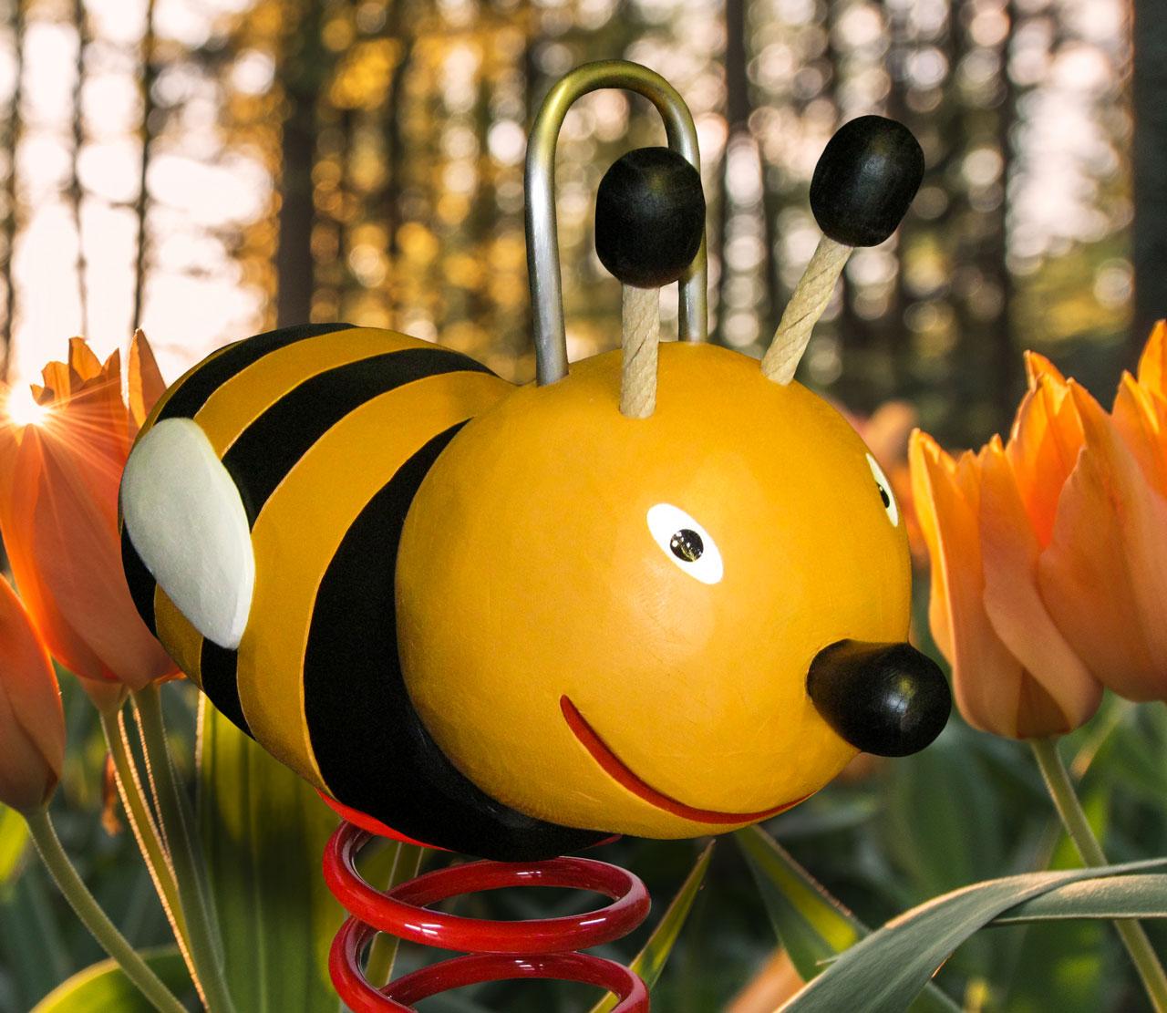 P 15 Federwipper Biene Hummel Bernd | Wackelhummel | Wackelbiene