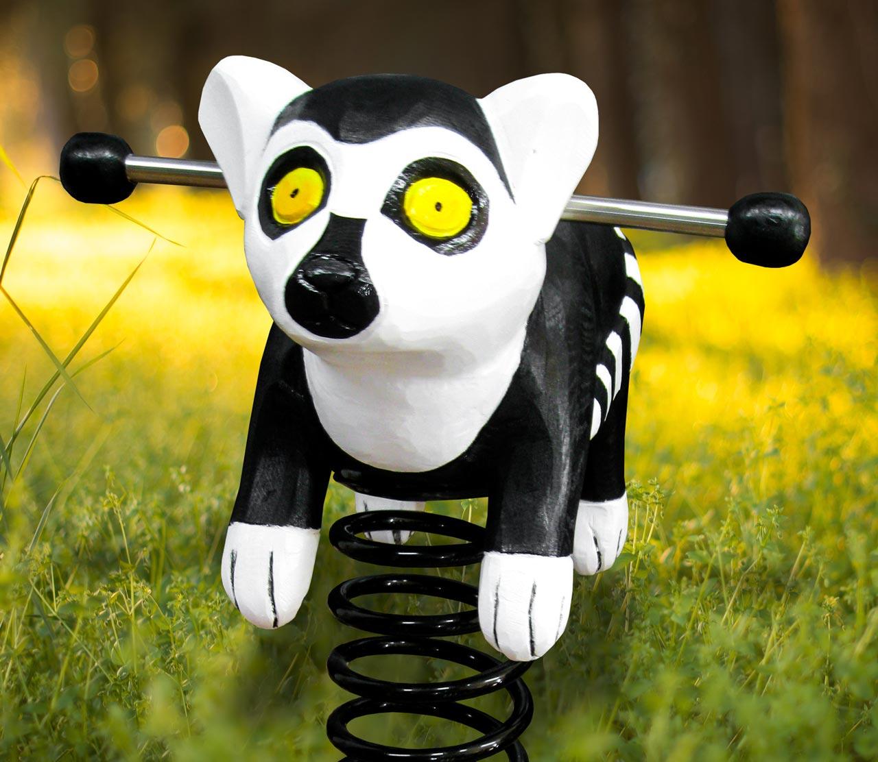P 156 Federwipper Lemur | Wackellemur