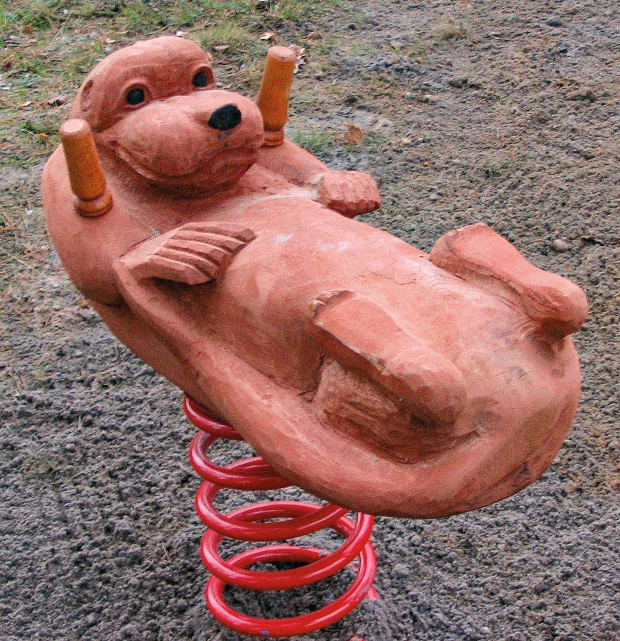 P 2-6 Federwipper Otter | Wackelotter