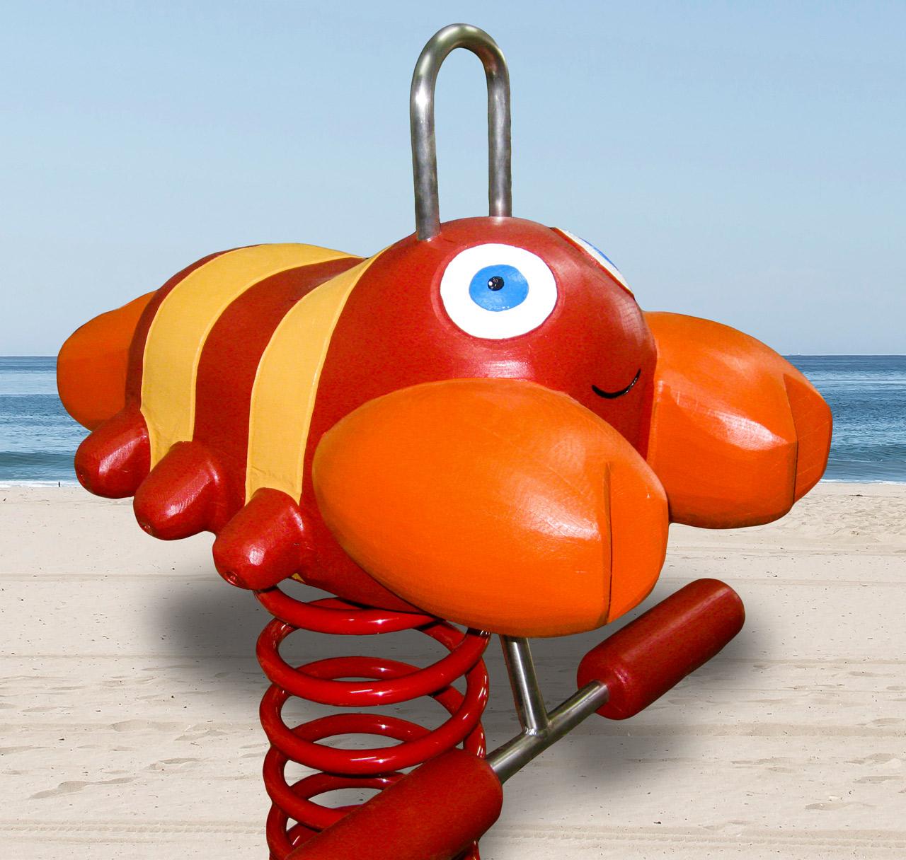 P 32 Federwipper Krebs Mutige Krabbe | Wackelkrabbe
