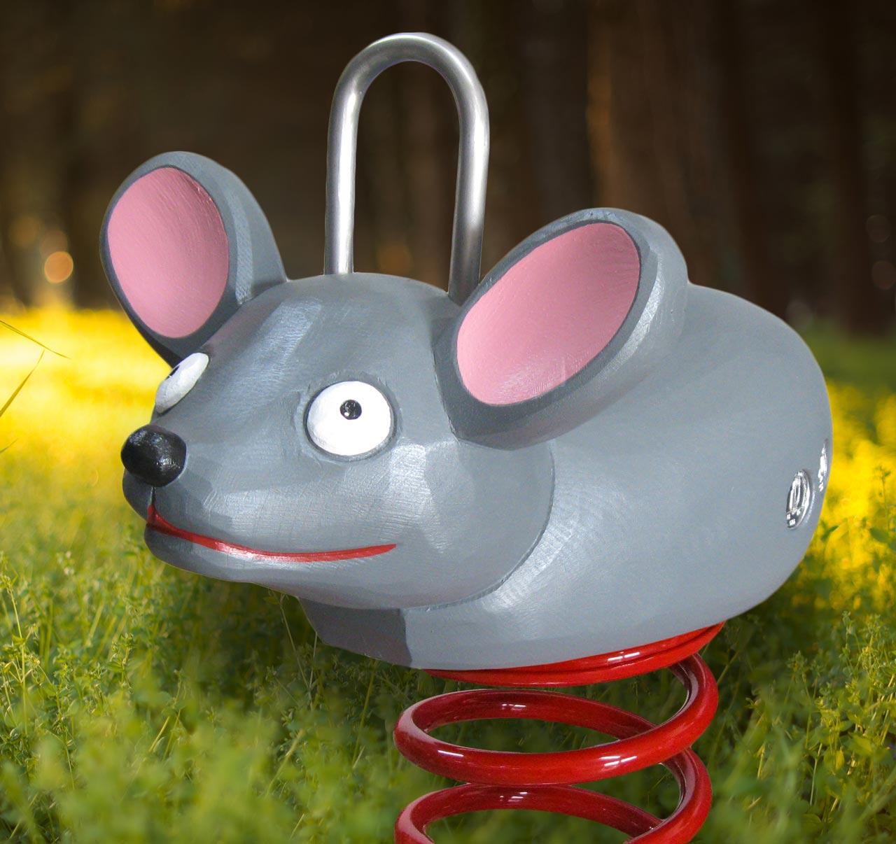 P 33 Federwipper Maus Mäuserich | Wackelmaus