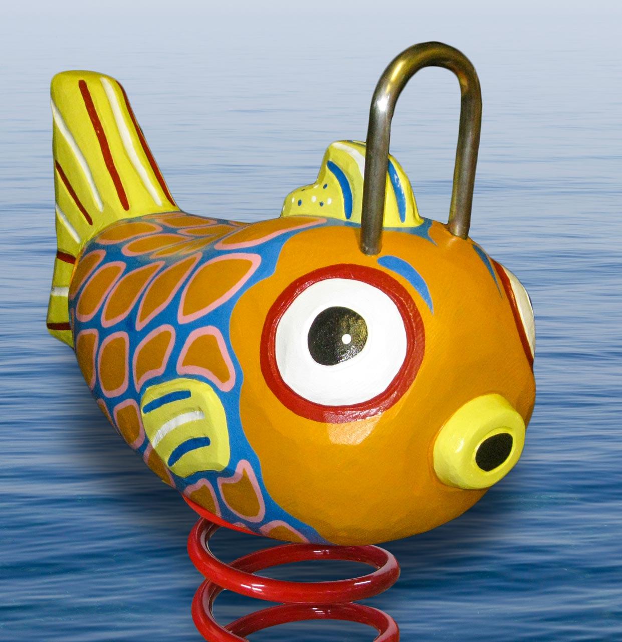 P 5-2 Federwipper Fisch | Wackelfisch