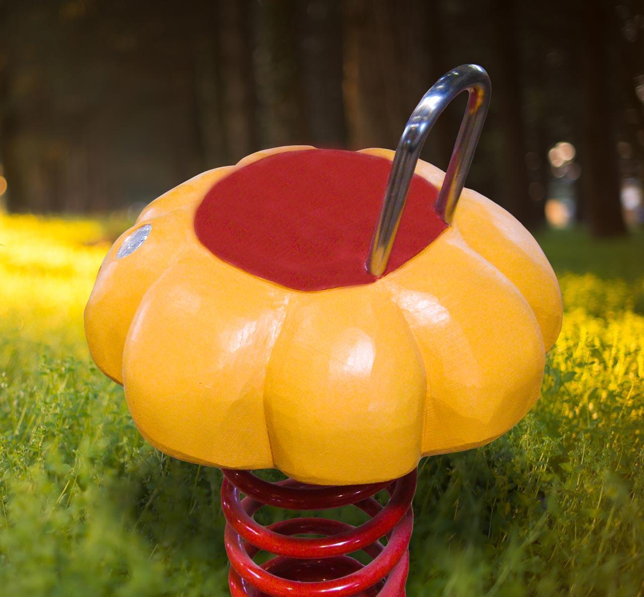P 59 Federwipper Blume | Wackelblume