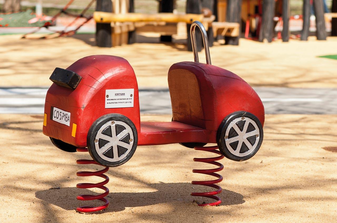 P 78 Federwipper Auto Wackelflitzer