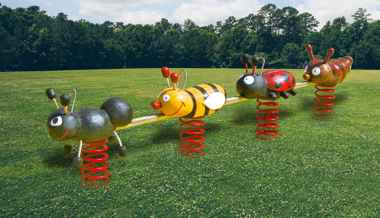 P 93 Federwipper Insektentruppe
